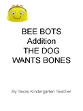 Bee-Bots Mat MATH addition counting Dog Wants a Bone Kinde