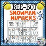 Bee Bots Snowman Numbers