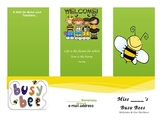 Bee Brochure Template