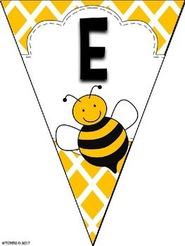 Bunting Banners Bees