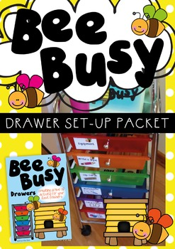 Bee Busy Drawers Set Up Packet