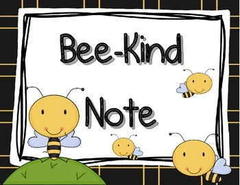 Bee Cards Freebie for One Happy T