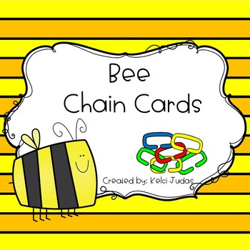 Bee Chain Cards