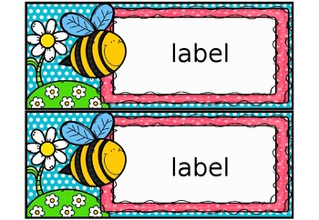 Bee Classroom Decor