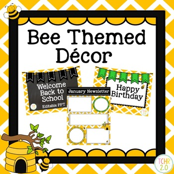 Bee Classroom Decor Bundle
