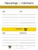 Bee Classroom Planner