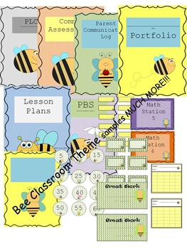 Bee Classroom Theme 100 pages
