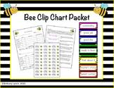 Bee Clip Chart (Editable)