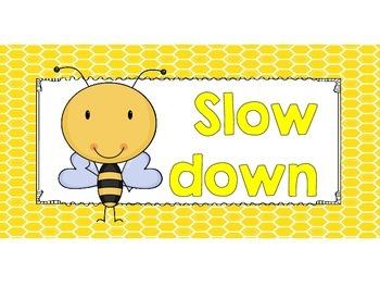Bee Clip It! Behavior Chart
