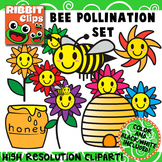 Bee Clipart {Pollination}