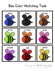 Bee Color Matching Folder Game for Early Childhood Special