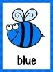 Bee Color Posters & Cards