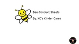 Bee Conduct Sheets