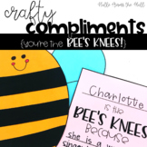 Bee Craft {Crafty Compliments May} Spring Summer Craft