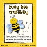 Bee Craftivity and Tree Map
