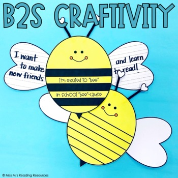 Bee Craftivity and Writing Prompt