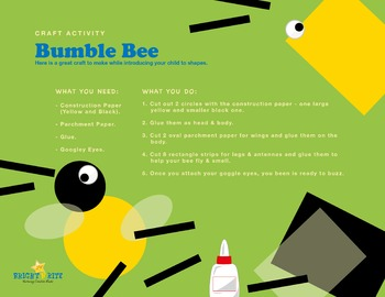 Bee Creative, craft activity
