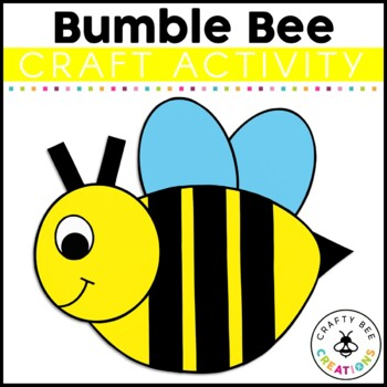 Bumble Bee Cut and Paste