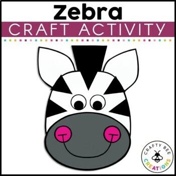 Zebra Cut and Paste
