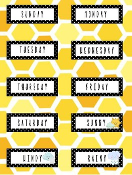 Bee Days of the Week