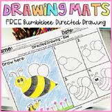 Bee Directed Drawing Mats