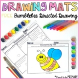 Bee Directed Drawing Mats