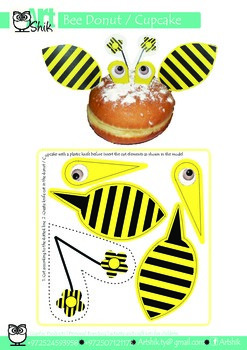 Bee Donuts & Cupcake Decoration and fun activity