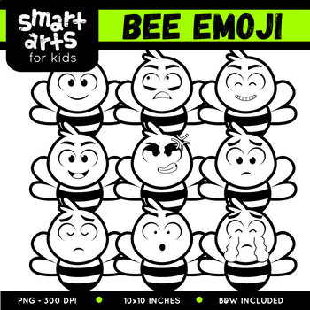 Bee Emoji Clip Art