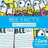 Bee Facts Banner {Bunting, Garland, Pennant Display}