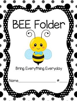 Bee Folder Cover Boy