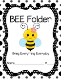 Bee Folder Cover Girl