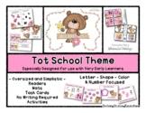 Bee Friends Theme - Grow With Me Little Bear Tot School -