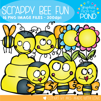 Bee Fun - Clipart for Teachers and Classrooms