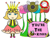 Bee Girl Clipart (Personal & Commercial Use)