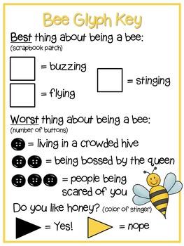 Bee Glyph