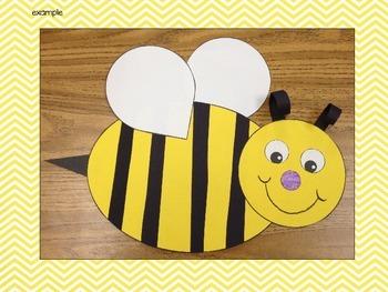 Bee Glyph Craftivity
