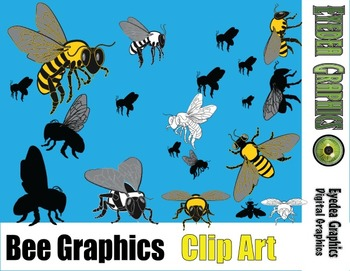 Bee Graphics (Clip Art)