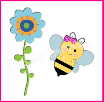 Bee Happy Clip Art Pack