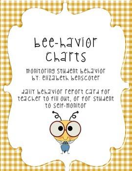 Bee-Havior Charts