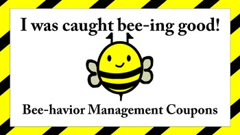 Bee-Havior Management Coupons