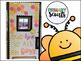 Bee Hive Door or Bulletin Board Template