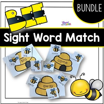 Beehive Sight Word Games - BUNDLED
