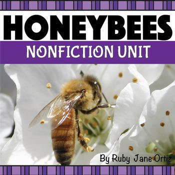 HONEYBEE NONFICTION UNIT (Booklet, Craft Pattern, Lapbook)