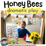 Bee Keeper Dramatic Play Center / Pretend Play Honey Bee Printables
