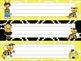 Bee Kids Name Tags / Desk Plates