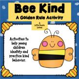 BEE KIND: Behavior modification, Activities, Worksheets fo