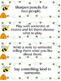 Bee Kind Random Acts of Kindness