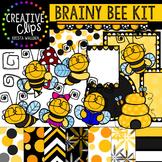 Bee Kit {Creative Clips Digital Clipart}