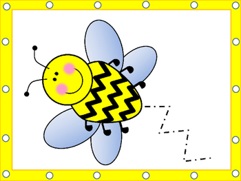 Bee Lacing Cards