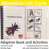 Bee Life Cycle adapted book and activities